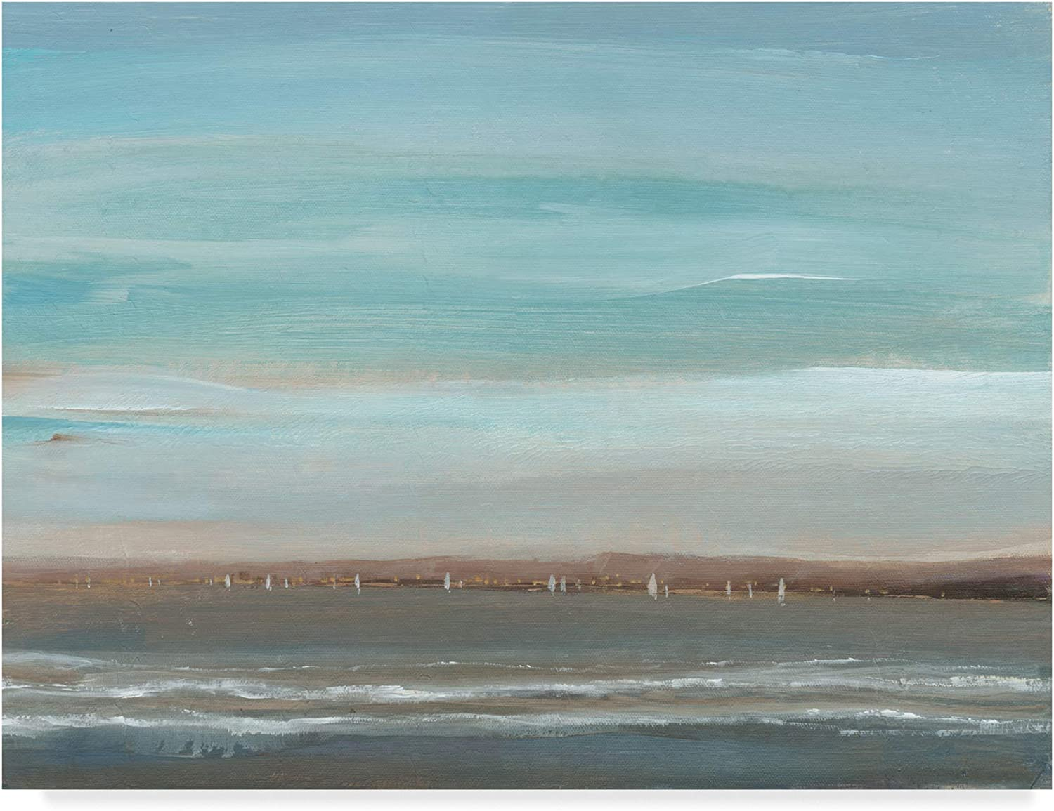 Trademark Fine Art Distant Coast II by Tim Otoole, 14x19