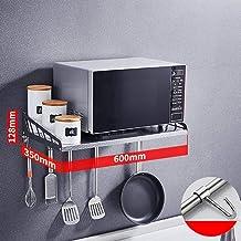 Estante De La Cocina De Acero Inoxidable 304 • Microondas Estante Horno para Montaje En Pared,Longitud, 600 Mm