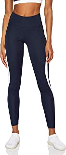 AURIQUE Amazon Brand Women's High Waisted Sports Leggings, Black