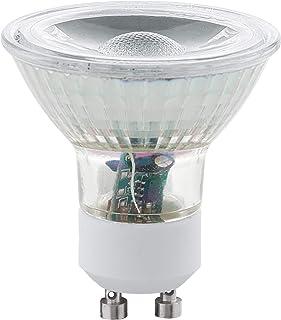 Eglo 11511–Juego de 2bombillas LED GU10COB 3000K 5W 400Lumens blanco cálido