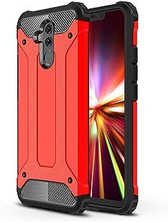 comprar comparacion DESCHE para Funda Huawei Mate 20 Lite, Hard PC Soft TPU 2 en 1 360° Funda Resistente a los arañazos a Prueba de Golpes + V...