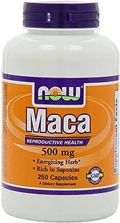 NOW Foods Maca 500mg, 750 Capsules Pack Now-xxwe