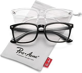 Pro Acme Non-prescription Glasses Frame Clear Lens Eyeglasses