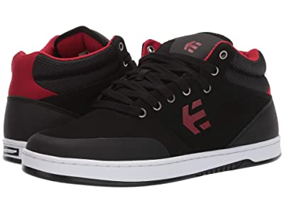 etnies Marana Mid Crank (Black/Red) Men