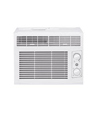 GE AHEC05AC 5,000 BTU Mechanical Window Air Conditioner, Cools up to 150 sq. Ft, Easy Install Kit Included, 5000 115V