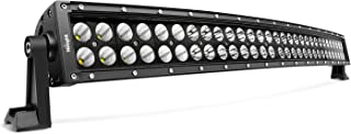 "Nilight 71013C-A Curved 32"" 180W Spot Flood Combo High Power LED Bar Off Road Fog Driving Work Lights for SUV Boat Jeep La..."