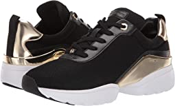 Black/Gold Small Air Mesh/Vachetta/Mirror Metallic