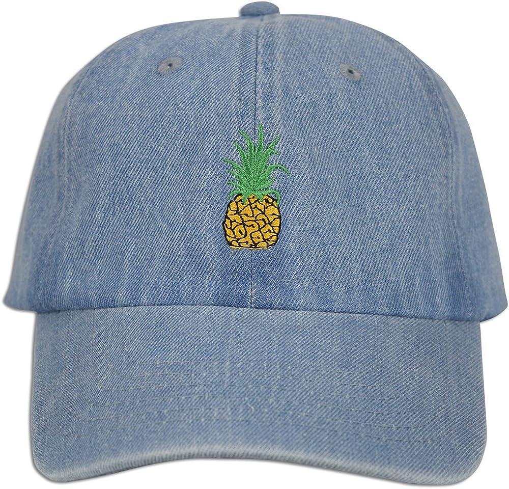 JLGUSA Pineapple Embroidery Dad Hat Baseball Cap Polo Style Unco