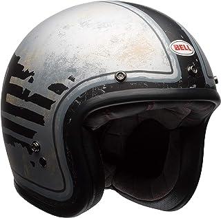 Bell RSD 74 Adult Custom 500 SE Cruiser Motorcycle Helmet - Black/Silver/Small