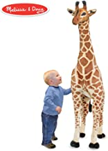 Melissa & Doug Giant Giraffe (Playspaces & Room Decor, Lifelike Stuffed Animal, Soft Fabric, Over 4 Feet Tall) (Renewed)