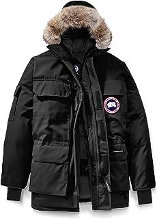 [カナダグース] CANADA GOOSE Men`s Expedition Relaxed Fit Genuine Coyote Fur Trim Down Jacket メンズパーカー [Black] [並行輸入品]