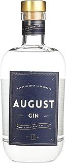 August Gin Premium London Dry Gin verfeinert mit Zirbelkiefer Handmade in Schwaben, 1er Pack 1 x 0.7 l