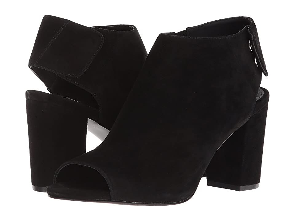 Steve Madden Nonstp Heel (Black Suede) Women