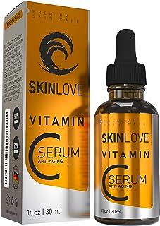 30 % vitamin C serum med HYALURON   VITAMIN E   JOJOJOBAOLJA   HIGH DOSERAD   ANTI-AGING   ANTI-FALT-SERUM   NATURLIGA ING...