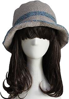 ZORJAR Knitted Hats for Women Handmade Linen Chic Fashion Crochet Bucket Hat