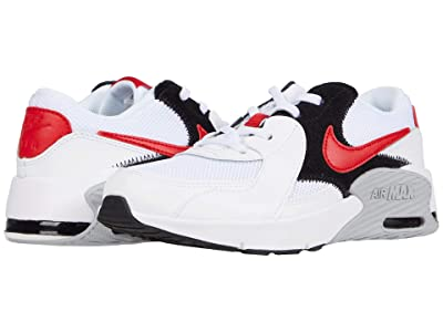 Nike Kids Air Max Excee (Little Kid) (White/University Red/Black/Wolf Grey) Kid