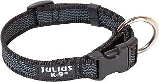 Julius-K9 Collar Color & Gray, 25 mm (39-65 cm), Negro-