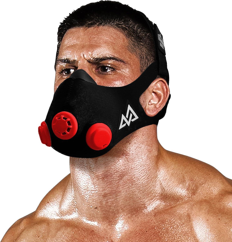 TRAININGMASK Elevation Training Mask 2.0 Original Elevation Training Mask   Fitness Mask, Workout Mask, Running Mask, Breathing Mask, Resistance Mask, Elevation Mask, Cardio Mask