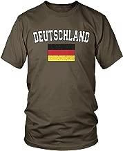 Amdesco Men's Deutschland Flag, German Flag of Germany T-Shirt
