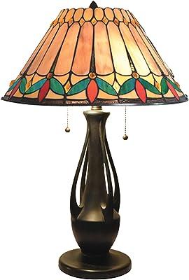 Dale Tiffany TT18175 Jardin Table Lamp, Dark Antique Bronze
