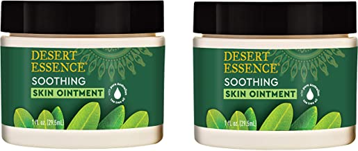 product image for Desert Essence Tea Tree Oil Skin Ointment - 1 Fl Ounce - Pack of 2 - Jojoba & Lavender Essential Oils - Vitamin E - Sweet Almond Extract - Moisturizer For Dry Skin, Skin Irritations, Cuticles