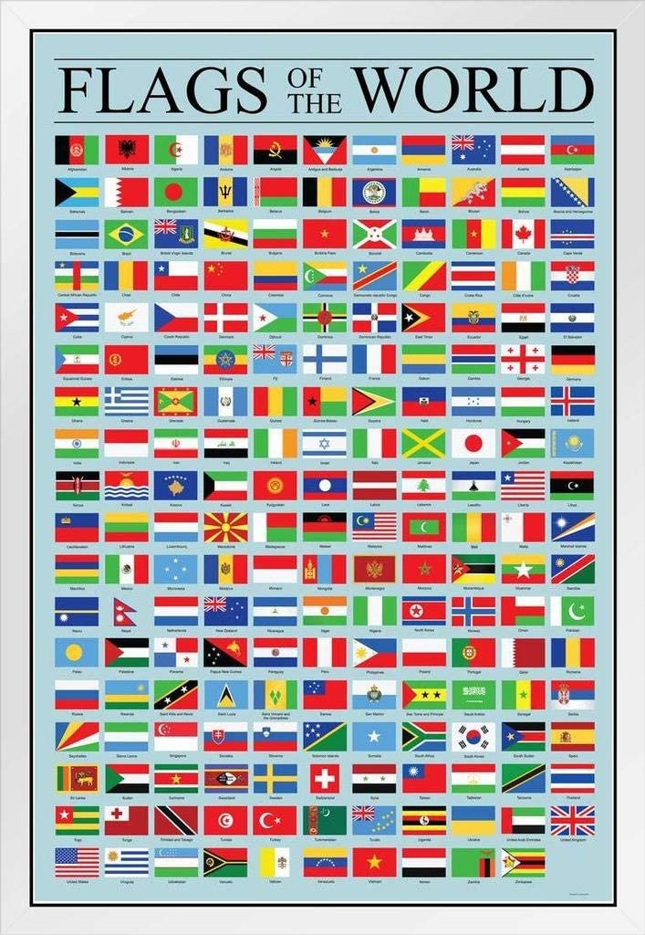 Flags of The World Classroom Countries National Al sold out. Reference Chart Fixed price for sale