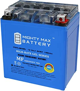 Mighty Max Battery 12V 6AH 100CCA Battery Replacement for Suzuki DR125, RV125, DR200 Brand Product