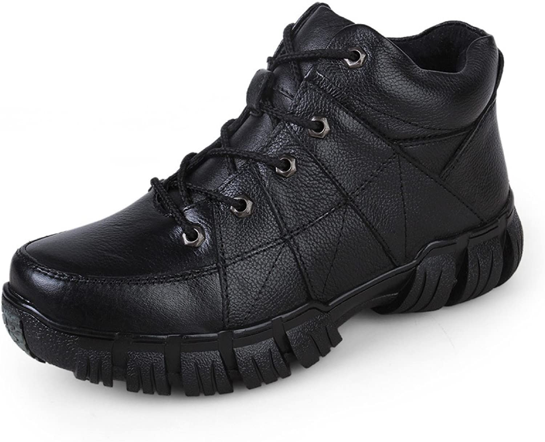 Winter Lace Warm shoes Men High To Help shoes shoes Cotton shoes