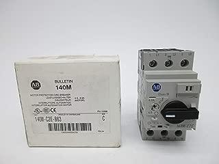Allen Bradley 140M-C2E-B63 SER. C 4.0-6.3A (WH) NSMP