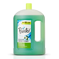 Amazon Brand - Presto! Disinfectant Surface Cleaner Jasmine, 2 L