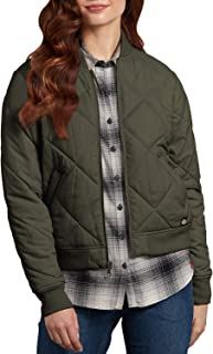 Dickies Women's Quilted Bomber Jacket