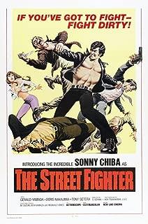 Posterazzi The Street Fighter Streetfighter Aka Gekitotsu Satsujin Ken Us Sonny Chiba 1974 Movie Masterprint Poster Print, (11 x 17)