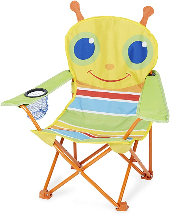 "Amazon.com: Melissa & Doug 000772066945 27"" x 25"" x 15"" Giddy Buggy Chair,  One Size, Multi : Toys & Games"