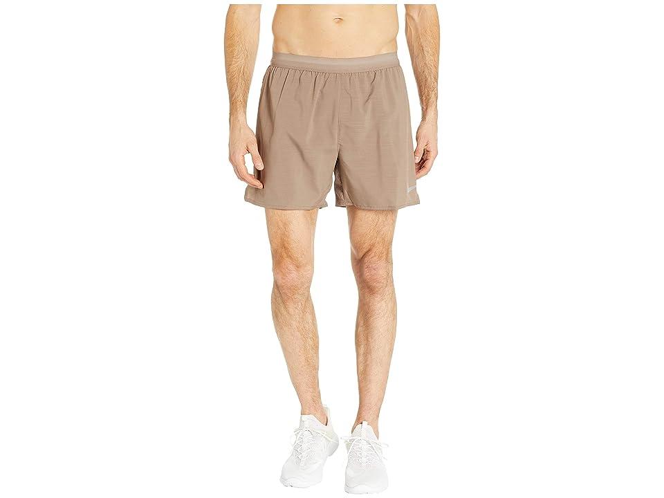 Nike Flex Stride 5 Running Short (Mink Brown/Desert Sand/Heather) Men