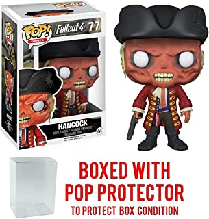 Funko Pop! Games: Fallout 4 - John Hancock Vinyl Figure (Bundled with Pop BOX PROTECTOR CASE)
