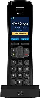 Ooma HD3 Handset – Black. Works with Ooma Telo.