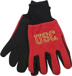 NCAA School Logo Grip Gloves - USC Trojans