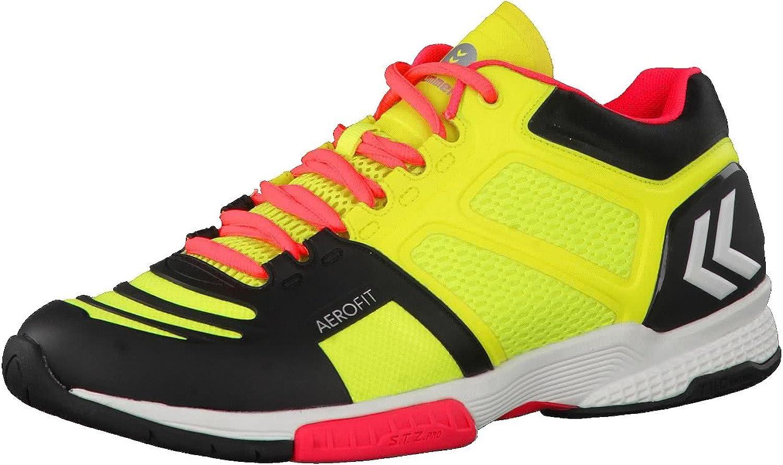 Hummel Aerocharge HB 220 Indoor Handballschuhe Hallenschuhe gelb schwarz rot 60-402-5279