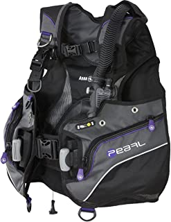 Aqua Lung Pearl Women's BCD (Medium, Black/Charcoal/Twilight)