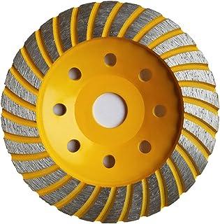 APlus Muela a Taza Diamante Turbo 125 x 22,2 mm / Disco Diamante / para Hormigón, Piedra Natural, Ladrillo