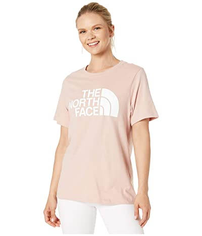 The North Face Short Sleeve Half Dome T-Shirt (Misty Rose/TNF White) Women