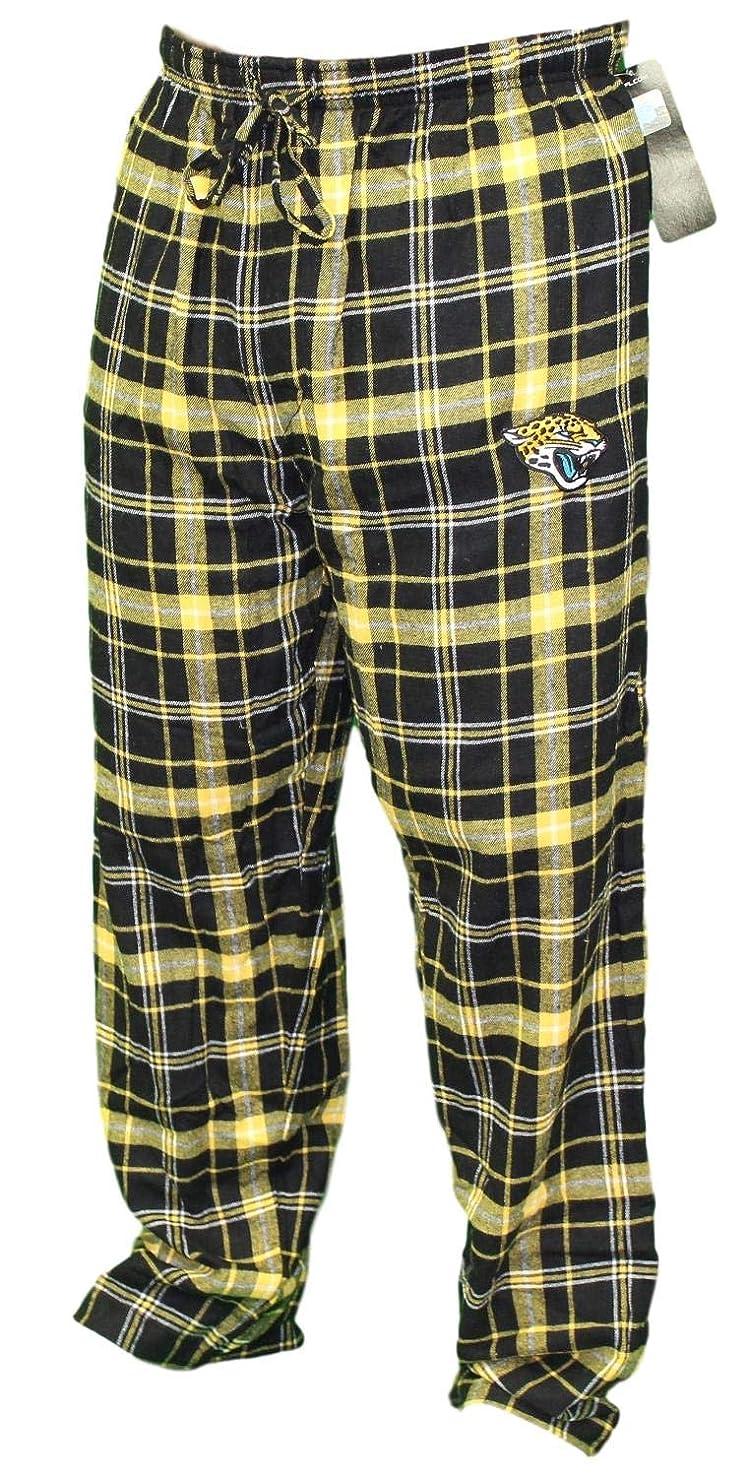 Concepts Sport Jacksonville Jaguars NFL Ultimate Goal Men's Flannel Pajama Pants