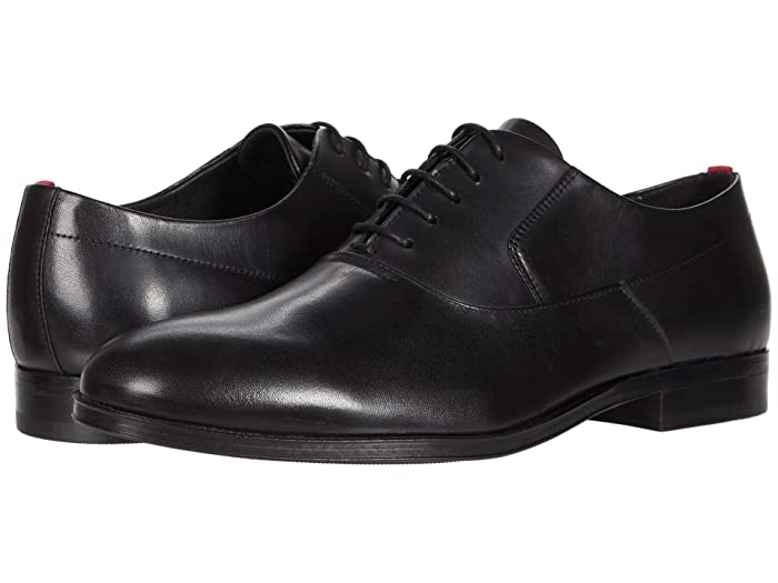 1920s Shoes for UK – T-Bar, Oxfords, Flats BOSS Hugo Boss Boheme Oxford Black Mens Shoes $126.72 AT vintagedancer.com