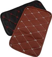 BESPORTBLE 2pcs Simple Car Armrest Mat Practical Automobile Armrest Pad Car Supplies