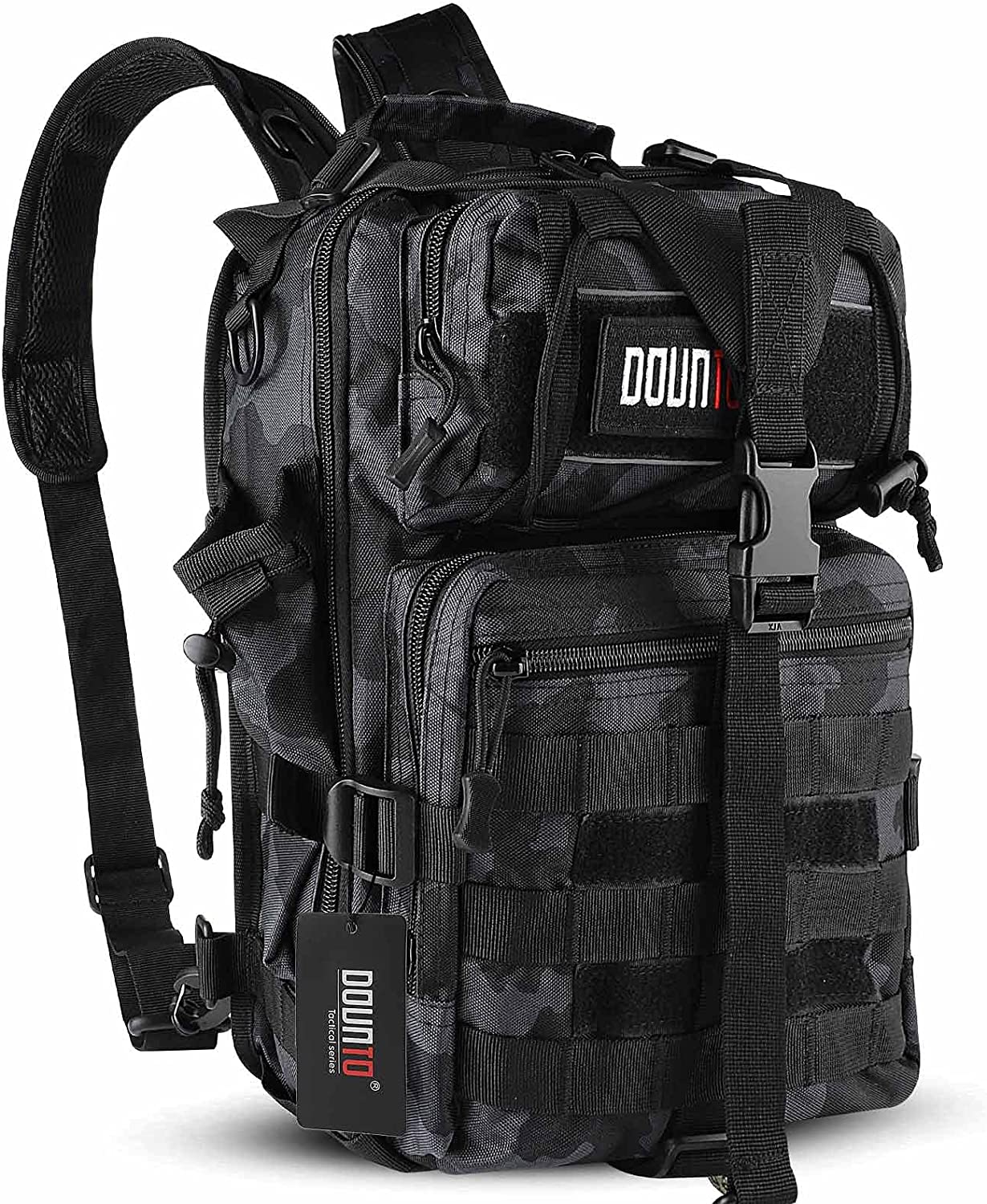 DOUNTO Tactical Fashion Ranking TOP15 Backpack Medium EDC Military DayPack Backp Molle