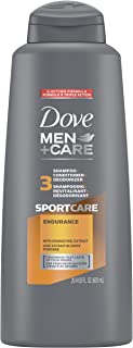DOVE MEN + CARE SportCare 3 in 1 Shampoo for Menâ€s Hair Endurance+Comfort Cleans and Conditions Better Than Regular Shamp...