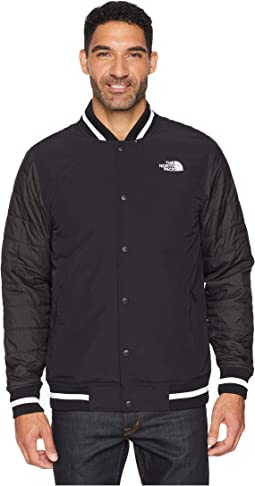 TNF Black Broken Grid Print