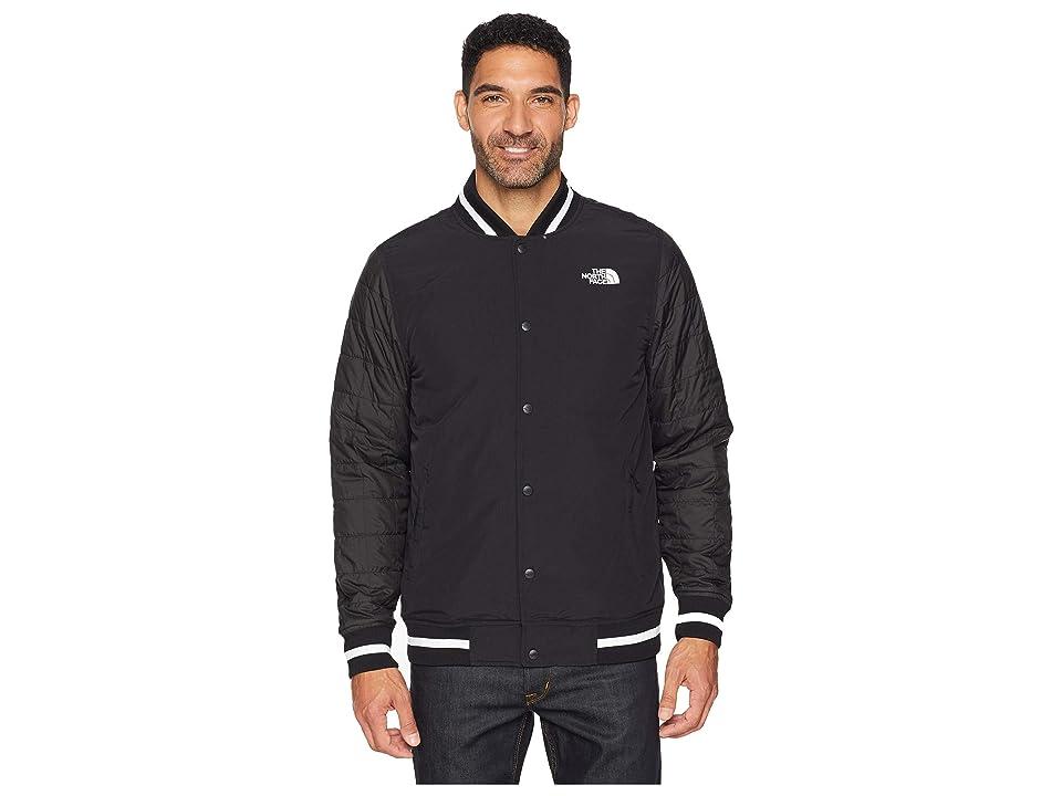 The North Face Transbay Insulated Varsity Jacket (TNF Black Broken Grid Print) Men