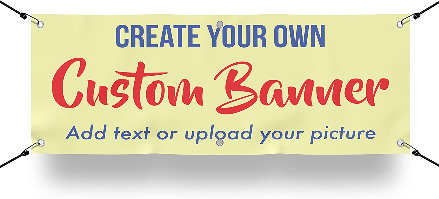 Dealing full price reduction Design Your Own Decorative Custom Under blast sales Banner T Photo with or Picture