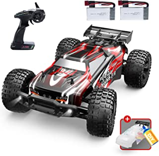 DEERC 9206E Remote Control Car 1:10 Scale Large RC Cars 48+ kmh High Speed for Adults Boys Kid,Extra Shell 4WD 2.4GHz Off ...